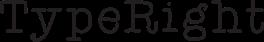 TypeRight Logo